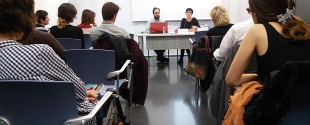 """El Servei d'Informació i Dinamització d'Estudiants (Sedi) amb la col·laboració del Vicerectorat de Cultura i Igualtat, presenta el Catàleg de la XIX Mostra art públic […]<!-- AddThis Sharing Buttons below -->                 <div class=""""addthis_toolbox addthis_default_style addthis_"""" addthis:url='http://dinamitzacio.blogs.uv.es/2017/02/27/presentacio-del-cataleg-de-la-xviii-mostra-dart-public-amb-la-conferencia-de-concha-jerez-premi-nacional-darts-plastiques-2015/'  >                     <a class=""""addthis_button_preferred_1""""></a>                     <a class=""""addthis_button_preferred_2""""></a>                     <a class=""""addthis_button_preferred_3""""></a>                     <a class=""""addthis_button_preferred_4""""></a>                     <a class=""""addthis_button_compact""""></a>                     <a class=""""addthis_counter addthis_bubble_style""""></a>                 </div>"""